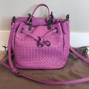 NEW Bottega Veneta Intrecciato Leather Bucket Bag